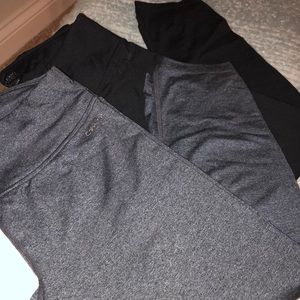 2 Calvin Klein cropped leggings—$$ is for both
